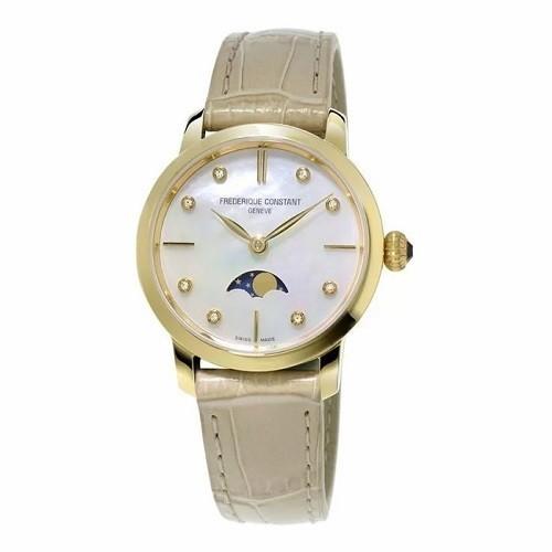 TOP mẫu đồng hồ Thụy Sỹ nữ cao cấp theo phong cách tối giản - Mẫu: Frederique Constant FC-206MPWD1S5