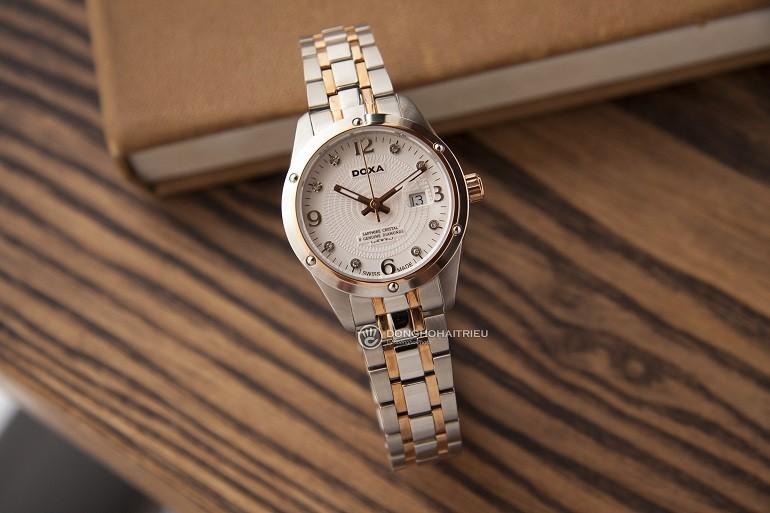 TOP mẫu đồng hồ Thụy Sỹ nữ cao cấp theo phong cách tối giản - Mẫu: Doxa D172RWH