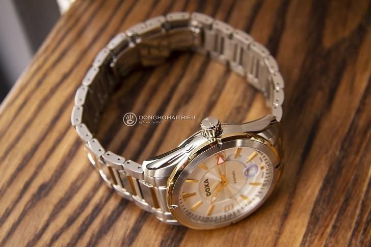 Khám phá nét độc đáo trong thiết kế đồng hồ nam Doxa D159TWH - Ảnh: 5