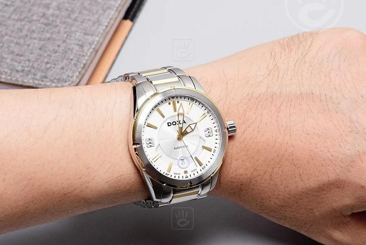 Khám phá nét độc đáo trong thiết kế đồng hồ nam Doxa D159TWH - Ảnh: 4