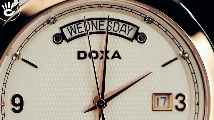 Khám phá chiếc đồng hồ cơ mạnh mẽ Doxa D167RWH - Ảnh: 2