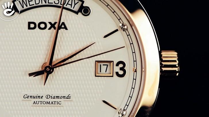 Khám phá chiếc đồng hồ cơ mạnh mẽ Doxa D167RWH - Ảnh: 3