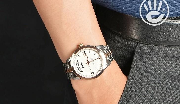 Khám phá chiếc đồng hồ cơ mạnh mẽ Doxa D167RWH - Ảnh: 1