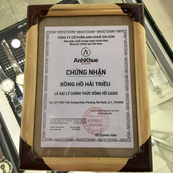 Đại lý đồng hồ Casio chính hãng Việt Nam, bảo hành quốc tế - Ảnh: 1