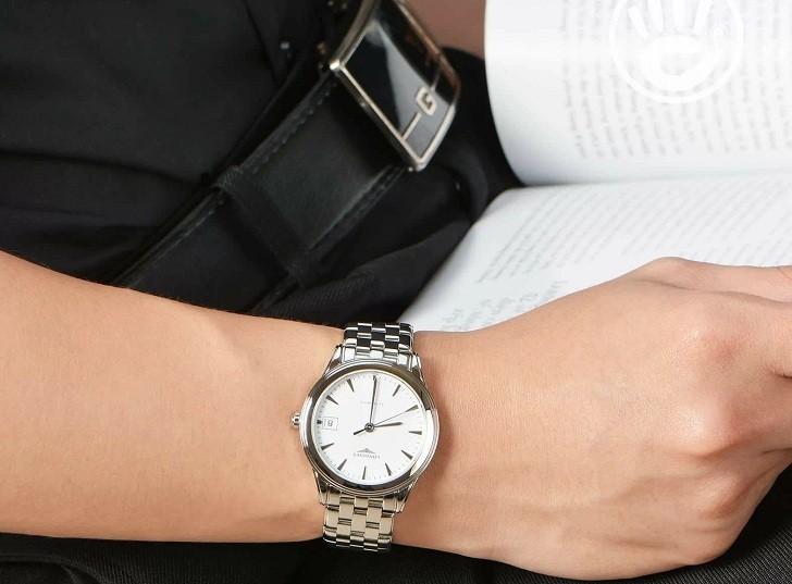 Đồng hồ Longines L4.874.4.12.6 dây đeo kim loại bền chắc - Ảnh 1