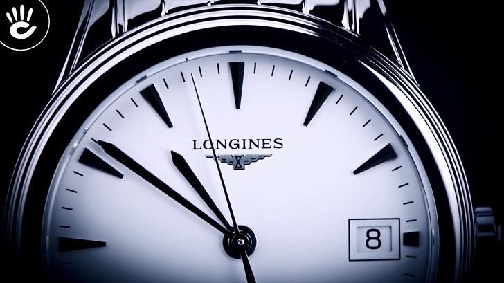 Đồng hồ Longines L4.874.4.12.6 dây đeo kim loại bền chắc - Ảnh 2