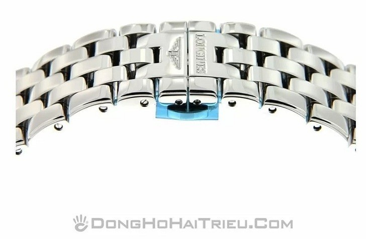 Đồng hồ Longines L4.874.4.12.6 dây đeo kim loại bền chắc - Ảnh 4