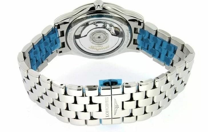 Đồng hồ Longines L4.874.4.12.6 dây đeo kim loại bền chắc - Ảnh 5