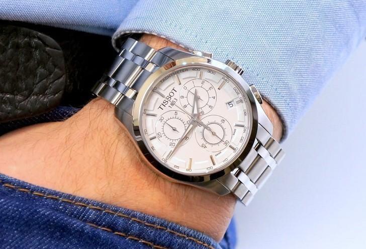 Đồng hồ Tissot T035.617.11.031.00 máy quartz chính xác cao - Ảnh 1