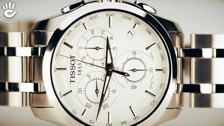 Đồng hồ Tissot T035.617.11.031.00 máy quartz chính xác cao - Ảnh 2