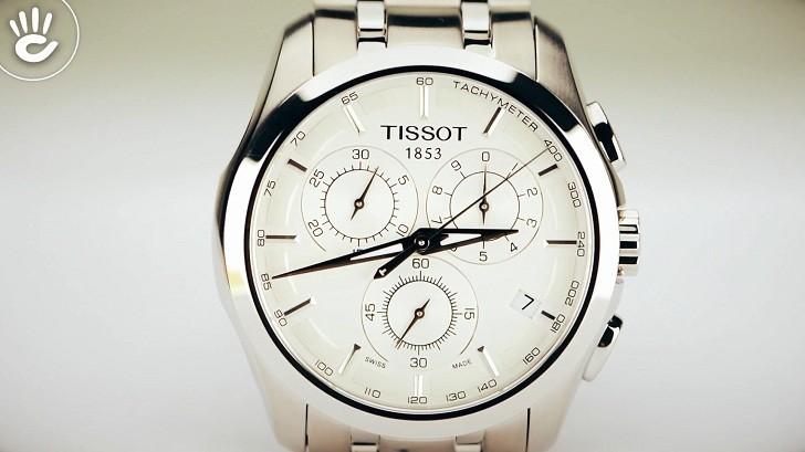 Đồng hồ Tissot T035.617.11.031.00 máy quartz chính xác cao - Ảnh 3