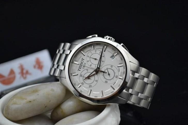 Đồng hồ Tissot T035.617.11.031.00 máy quartz chính xác cao - Ảnh 4