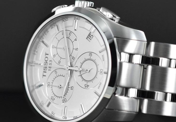 Đồng hồ Tissot T035.617.11.031.00 máy quartz chính xác cao - Ảnh 5