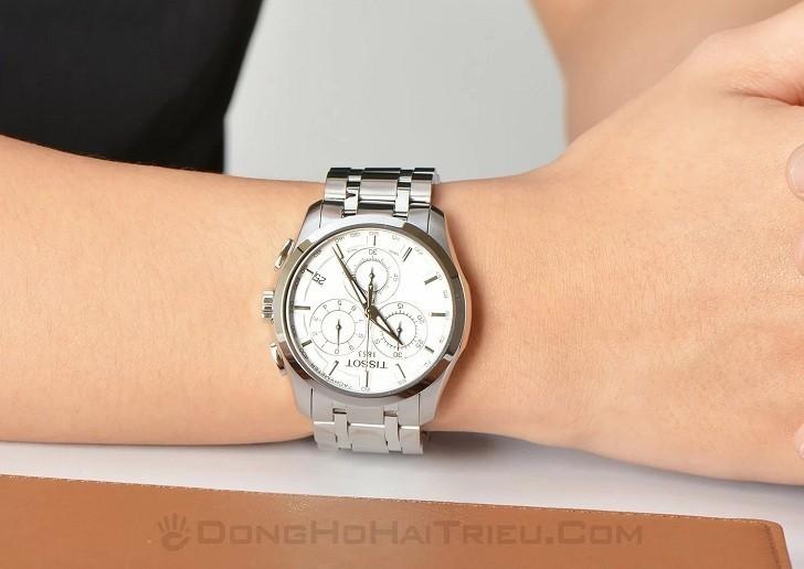 Đồng hồ Tissot T035.617.11.031.00 máy quartz chính xác cao - Ảnh 6