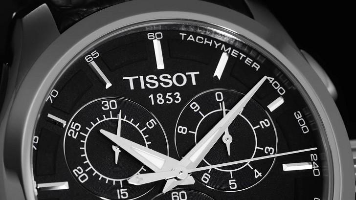 Đồng hồ Tissot T035.617.11.051.00 bộ chức năng Chronograph - Ảnh 2