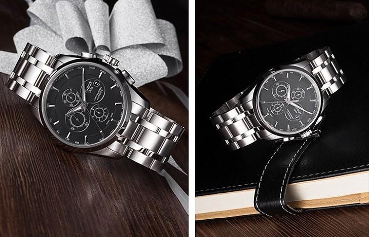 Đồng hồ Tissot T035.617.11.051.00 bộ chức năng Chronograph - Ảnh 4