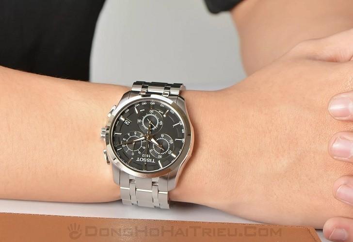 Đồng hồ Tissot T035.617.11.051.00 bộ chức năng Chronograph - Ảnh 6