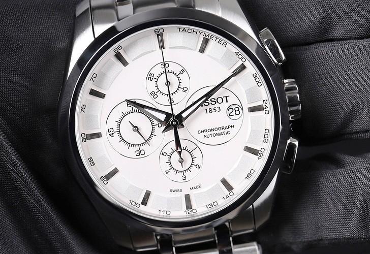 Đồng hồ Tissot T035.627.11.031.00 bộ bấm giờ chronograph - Ảnh 2