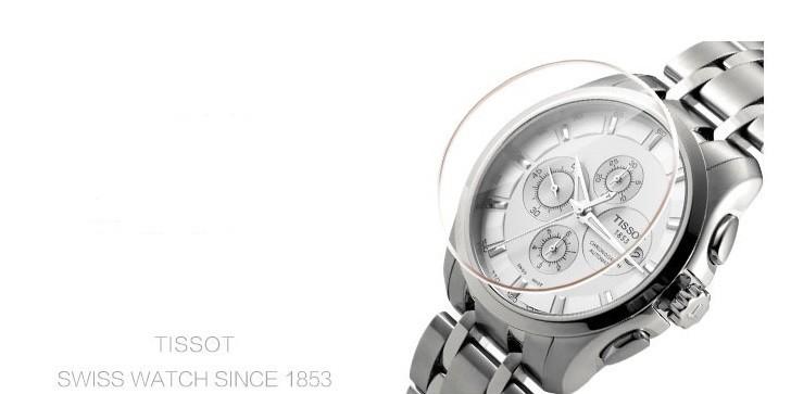 Đồng hồ Tissot T035.627.11.031.00 bộ bấm giờ chronograph - Ảnh 3