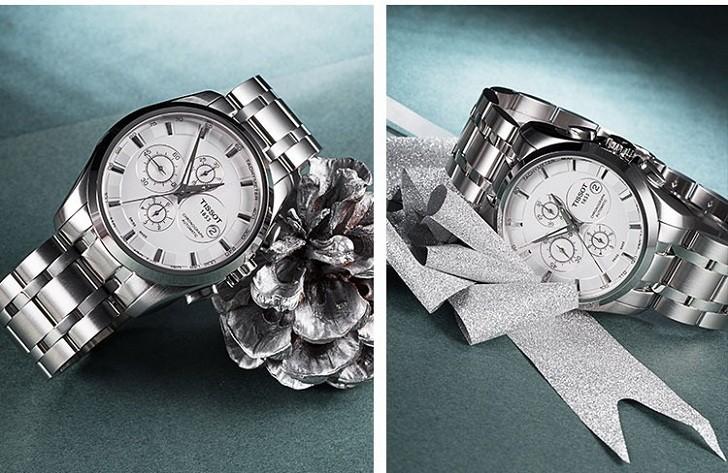 Đồng hồ Tissot T035.627.11.031.00 bộ bấm giờ chronograph - Ảnh 4