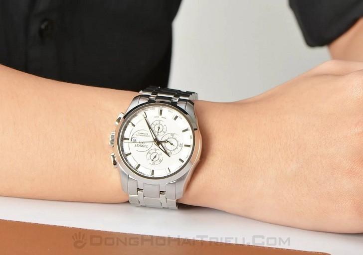 Đồng hồ Tissot T035.627.11.031.00 bộ bấm giờ chronograph - Ảnh 5