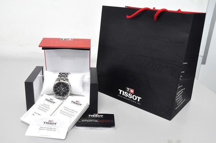 Đồng hồ Tissot T035.627.11.051.00 trữ cót lên đến 45 giờ - Ảnh 1