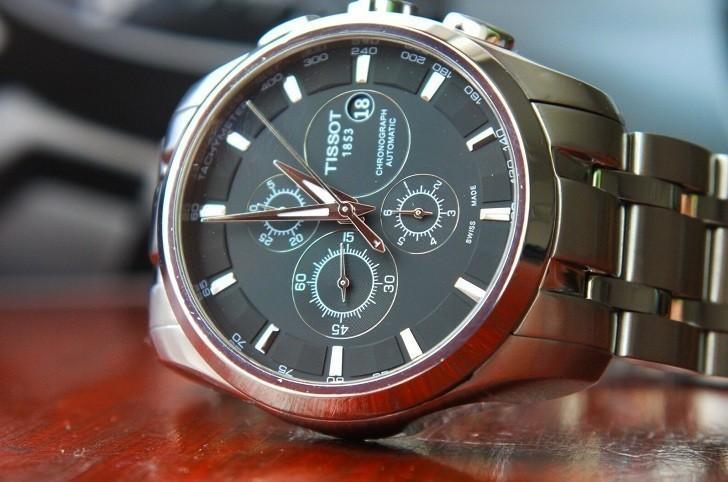 Đồng hồ Tissot T035.627.11.051.00 trữ cót lên đến 45 giờ - Ảnh 2