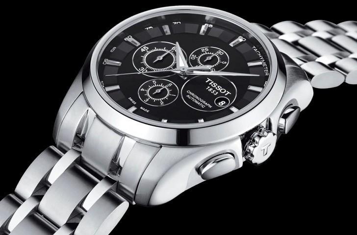 Đồng hồ Tissot T035.627.11.051.00 trữ cót lên đến 45 giờ - Ảnh 6