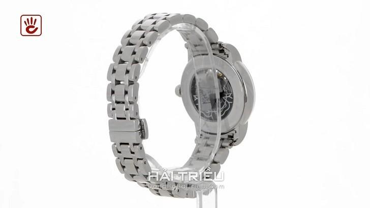 Đồng hồ Tissot T050.207.11.011.04 trang trí hình hoa lộ cơ - Ảnh 4