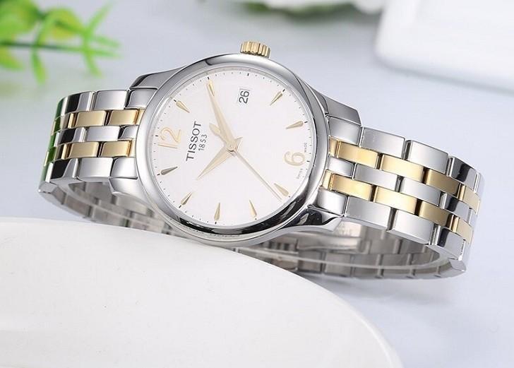 Đồng hồ Tissot T063.210.22.037.00 bộ máy quartz chính xác - Ảnh 2