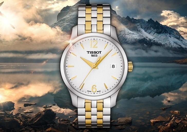 Đồng hồ Tissot T063.210.22.037.00 bộ máy quartz chính xác - Ảnh 5