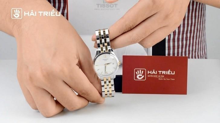 Đồng hồ Tissot T063.210.22.037.00 bộ máy quartz chính xác - Ảnh 6