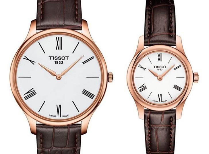 Đồng hồ Tissot T063.409.36.018.00 kính sapphire chống trầy - Ảnh 1