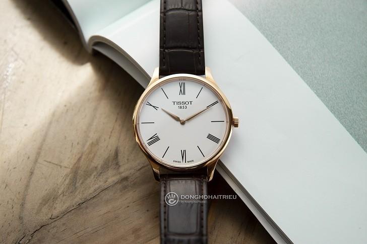 Đồng hồ Tissot T063.409.36.018.00 kính sapphire chống trầy - Ảnh 2