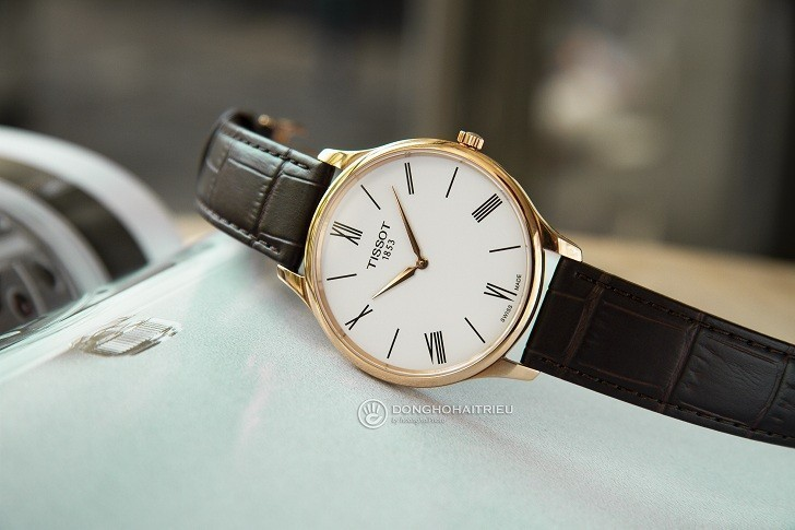 Đồng hồ Tissot T063.409.36.018.00 kính sapphire chống trầy - Ảnh 3