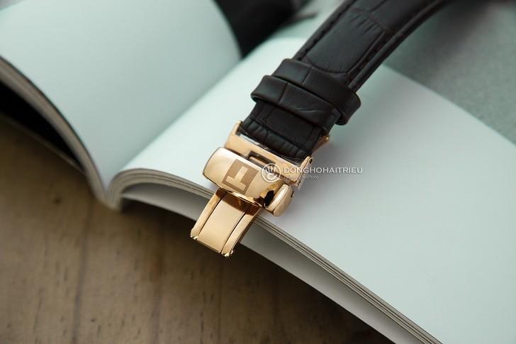 Đồng hồ Tissot T063.409.36.018.00 kính sapphire chống trầy - Ảnh 4