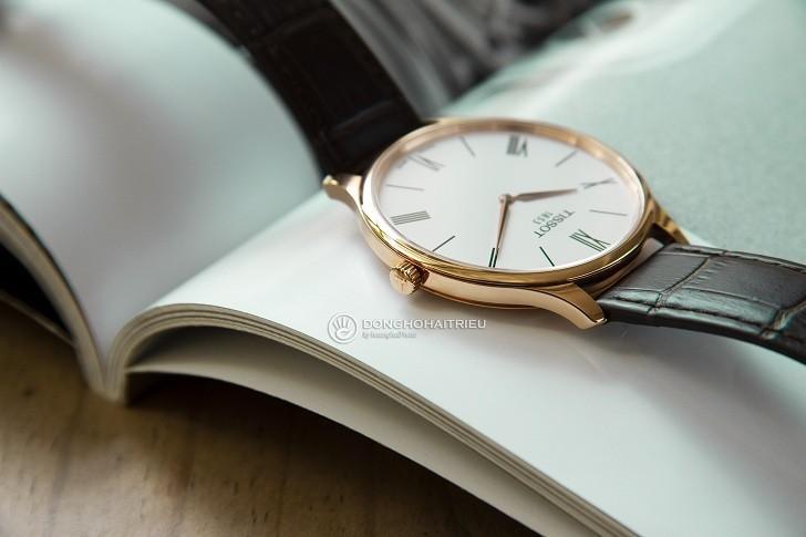 Đồng hồ Tissot T063.409.36.018.00 kính sapphire chống trầy - Ảnh 5