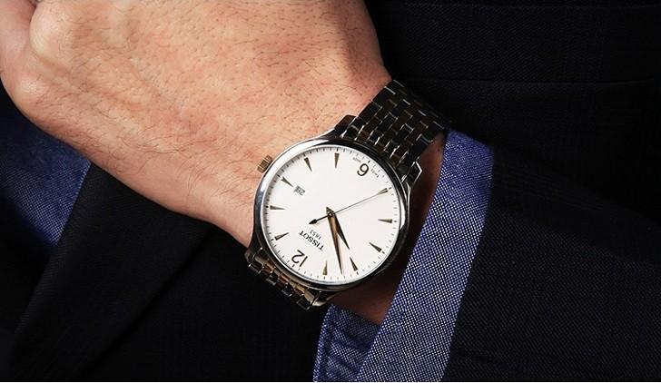 Đồng hồ Tissot T063.610.22.037.00 máy quartz chuẩn Thụy Sỹ - Ảnh 1