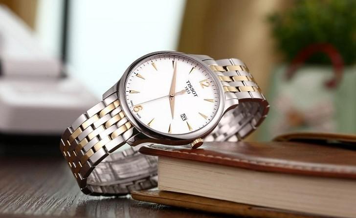 Đồng hồ Tissot T063.610.22.037.00 máy quartz chuẩn Thụy Sỹ - Ảnh 2