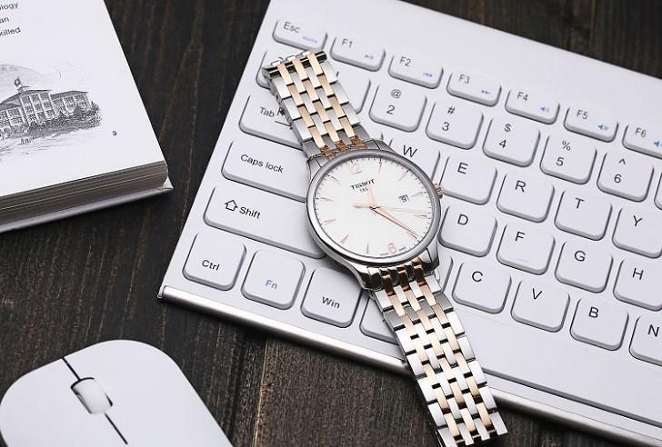 Đồng hồ Tissot T063.610.22.037.00 máy quartz chuẩn Thụy Sỹ - Ảnh 4