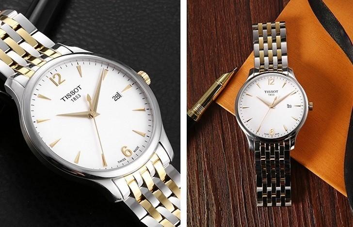 Đồng hồ Tissot T063.610.22.037.00 máy quartz chuẩn Thụy Sỹ - Ảnh 5