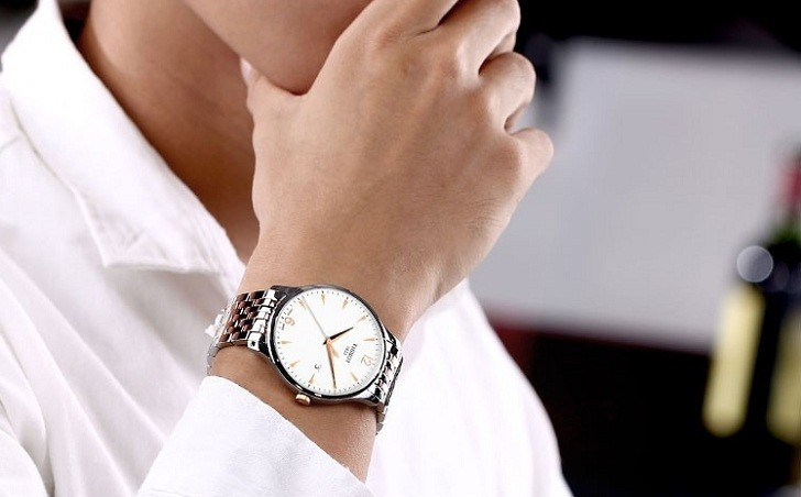Đồng hồ Tissot T063.610.22.037.00 máy quartz chuẩn Thụy Sỹ - Ảnh 6