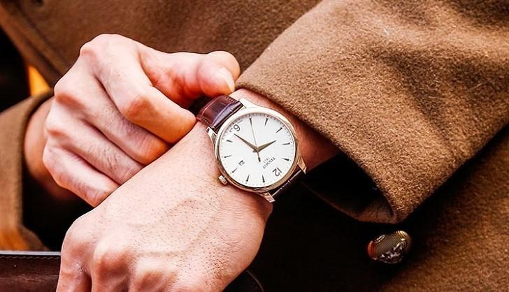 Đồng hồ Tissot T063.610.36.037.00 dây đeo da chính hãng - Ảnh 3