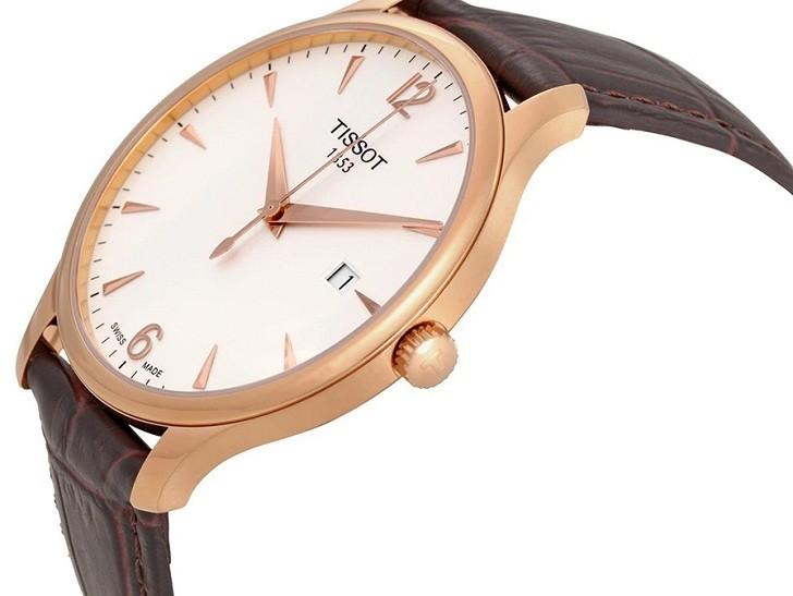Đồng hồ Tissot T063.610.36.037.00 dây đeo da chính hãng - Ảnh 5