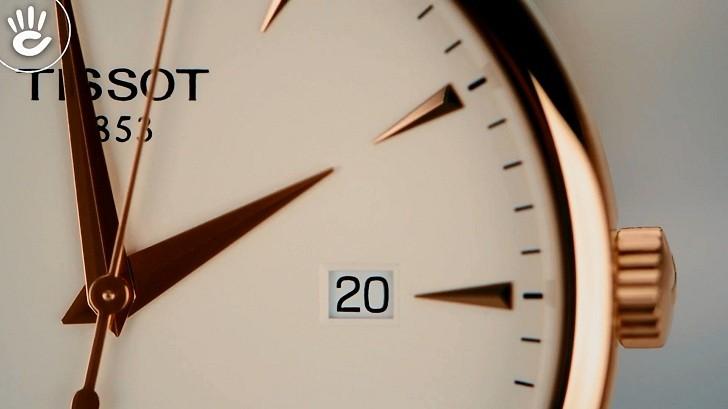 Đồng hồ Tissot T063.610.36.037.00 dây đeo da chính hãng - Ảnh 6