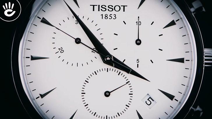 Đồng hồ Tissot T063.617.11.037.00 chức năng bấm giờ thể thao - Ảnh 2