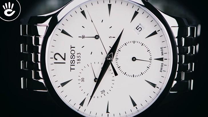 Đồng hồ Tissot T063.617.11.037.00 chức năng bấm giờ thể thao - Ảnh 3