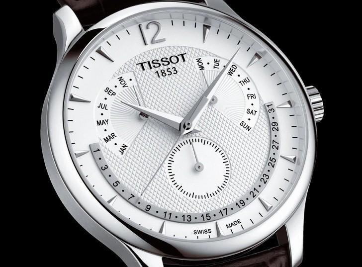 Đồng hồ Tissot T063.637.16.037.00 lịch vạn niên tiện dụng - Ảnh 2