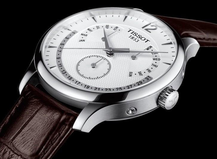 Đồng hồ Tissot T063.637.16.037.00 lịch vạn niên tiện dụng - Ảnh 5