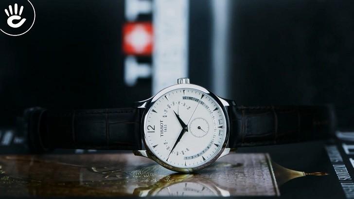Đồng hồ Tissot T063.637.16.037.00 lịch vạn niên tiện dụng - Ảnh 6
